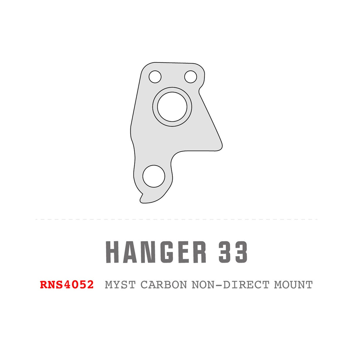 Saracen Hanger 33 fits: 2019 - 2020 Myst Carbon (Non-Direct)