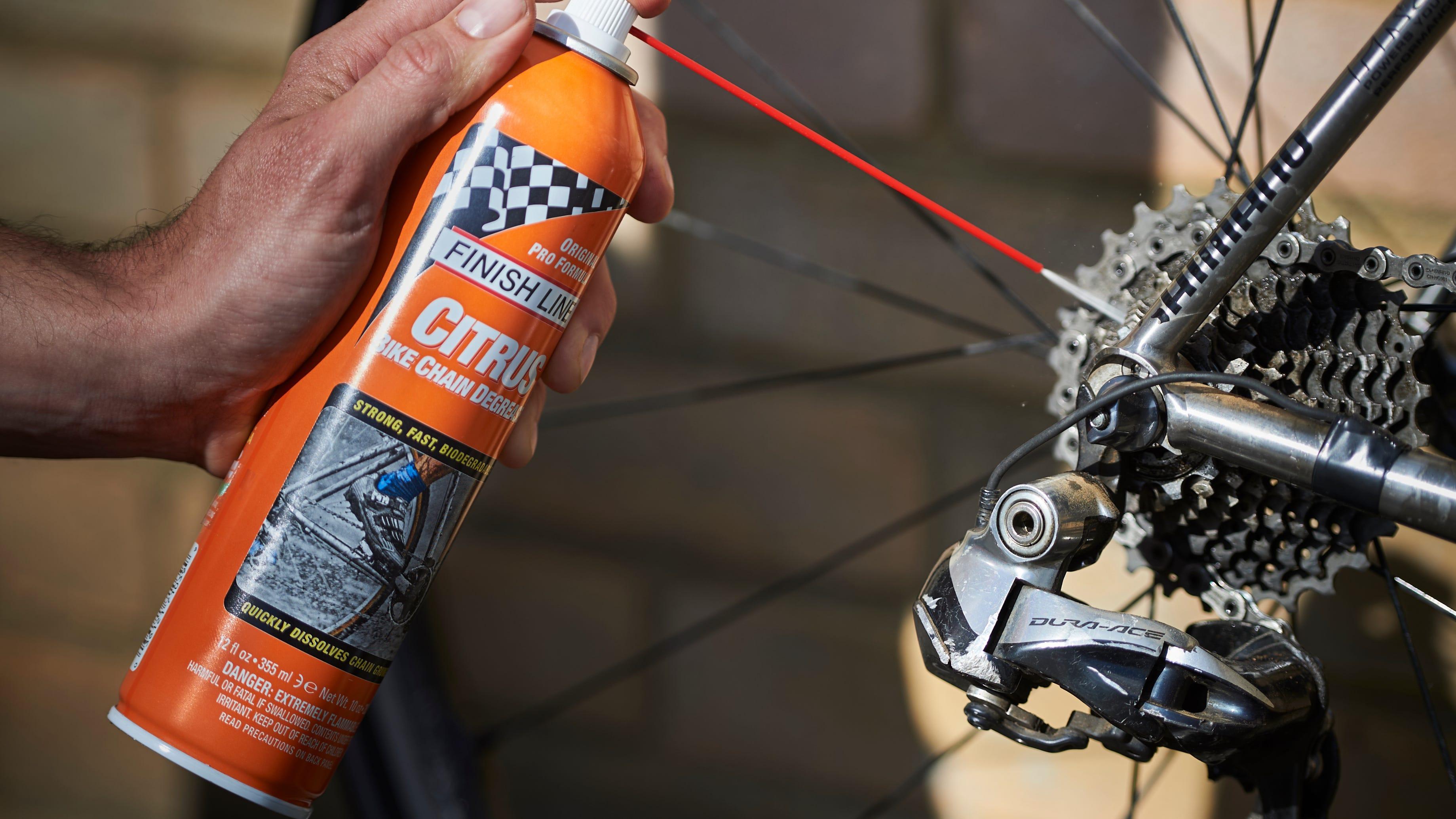 Bike cleaning essentials