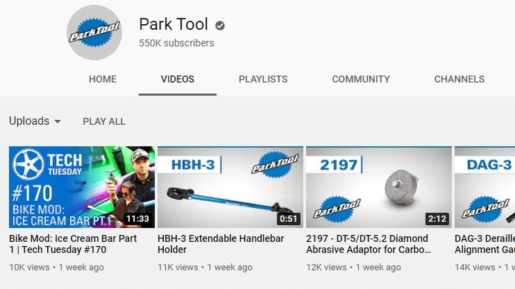 More helpful bike maintenance-related tips from Park Tool