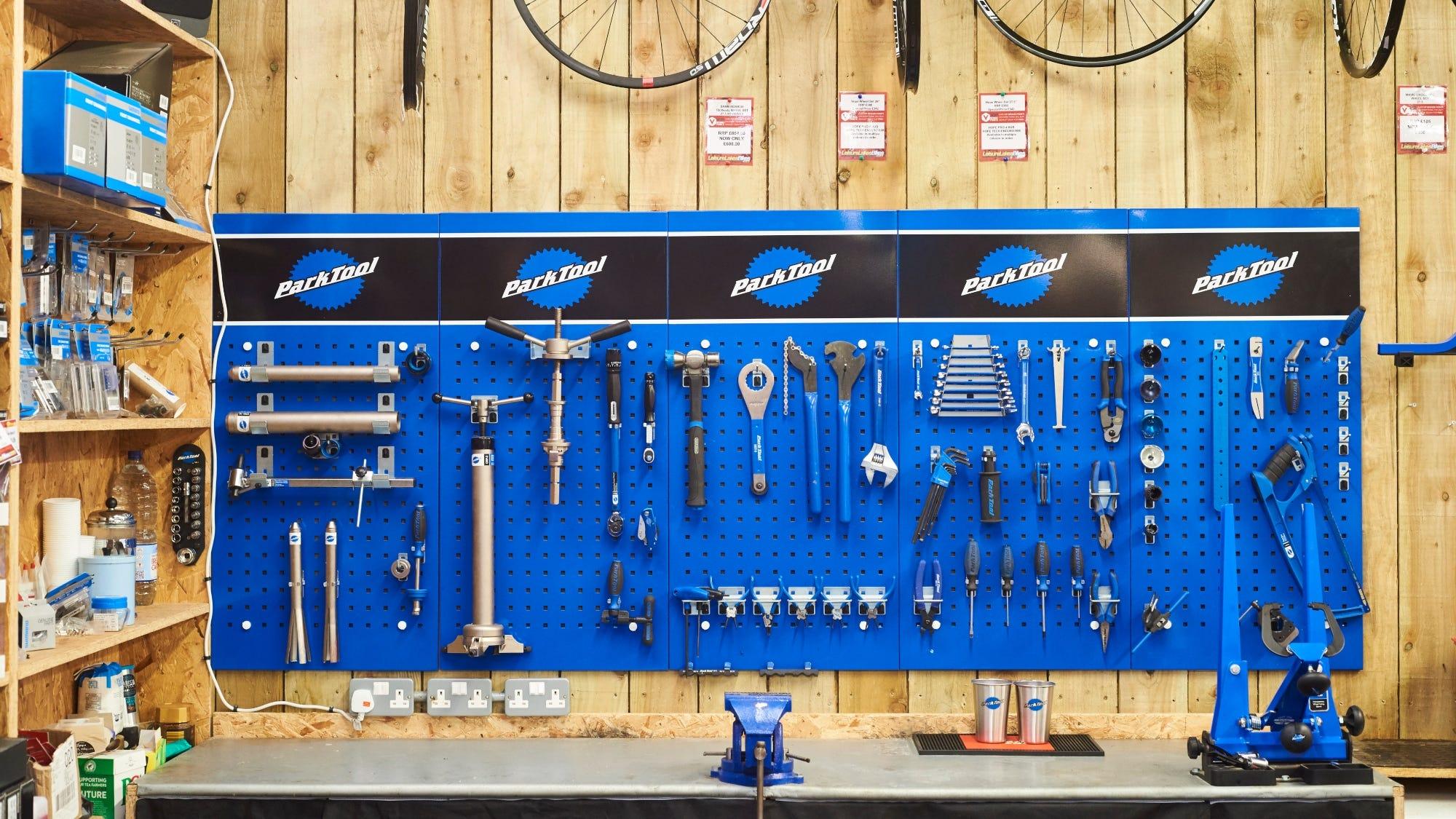 Home bike checks with Park Tool
