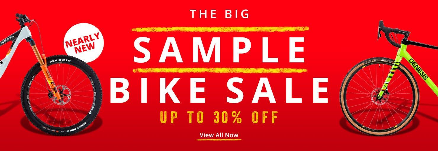 The Bike Sample Bike Sale