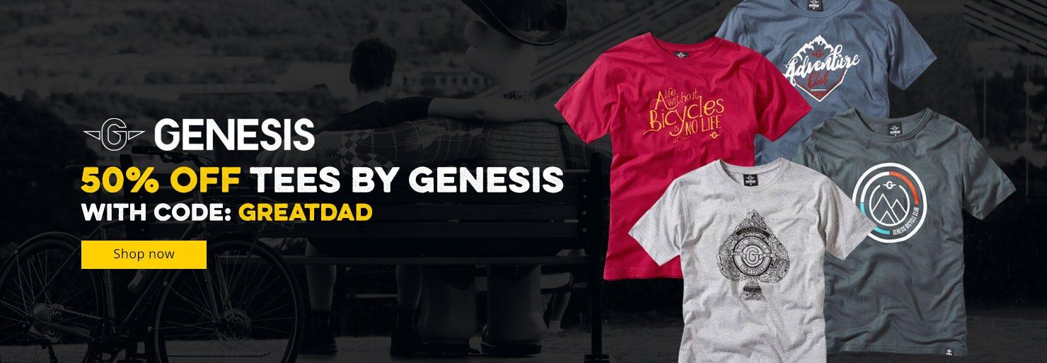 50% Off Genesis T-Shirts!