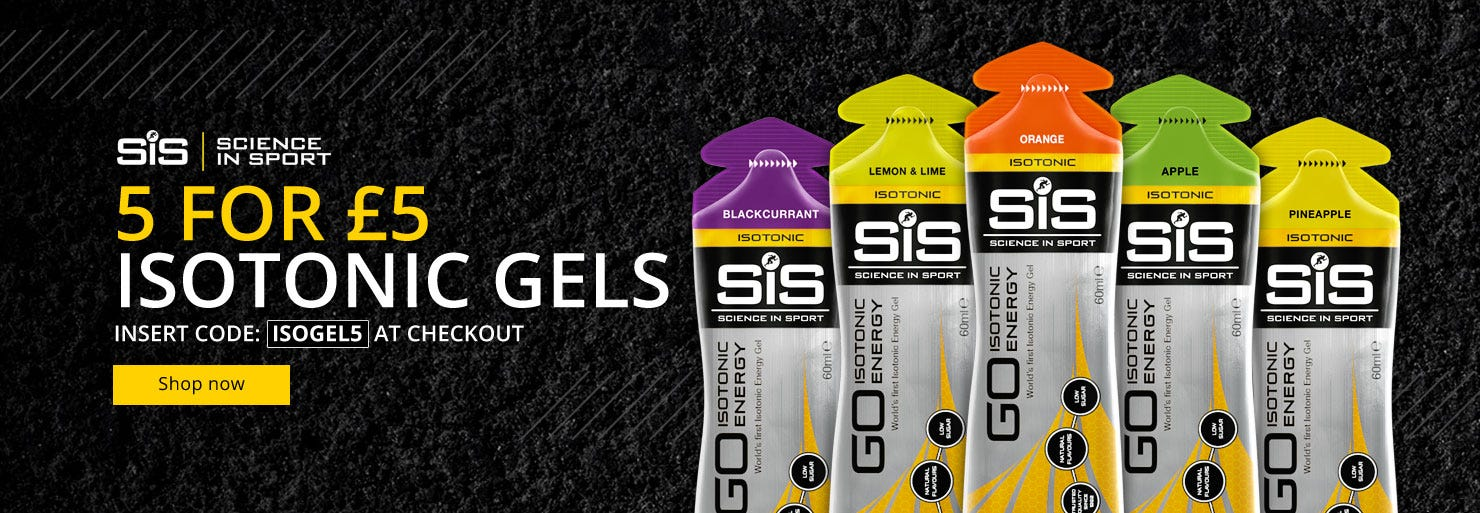 5 for £5 On SiS Isotonic Energy Gels!