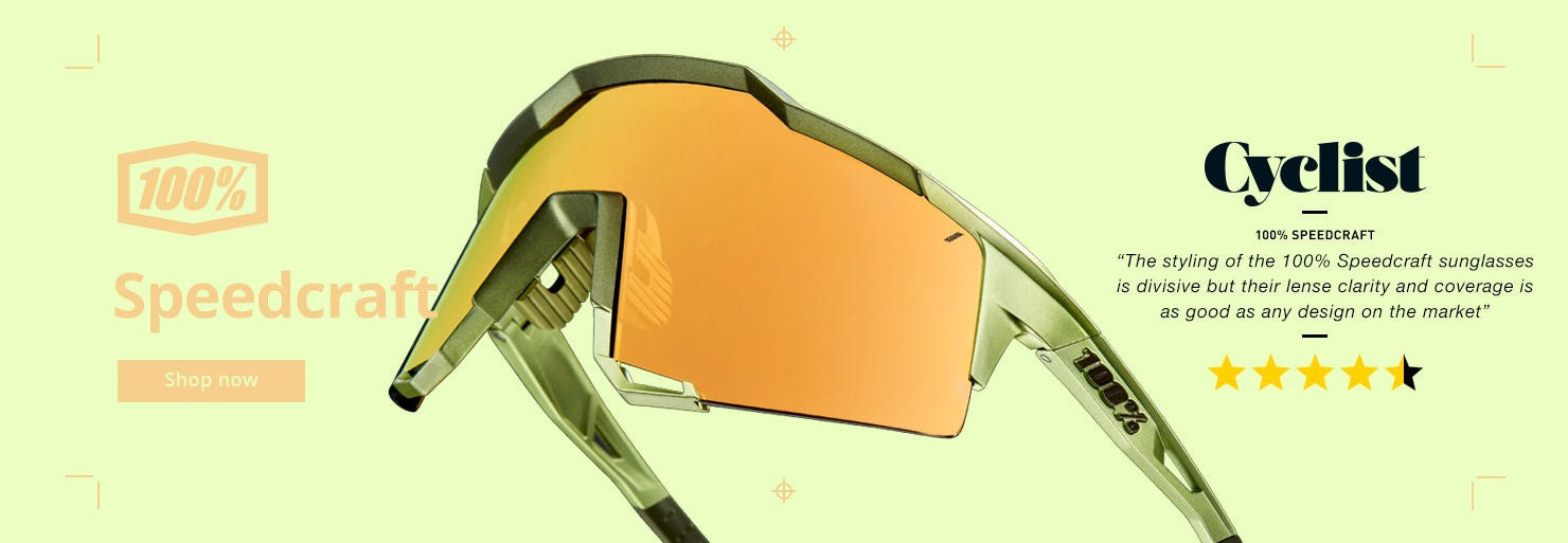 100% Speedcraft Glasses