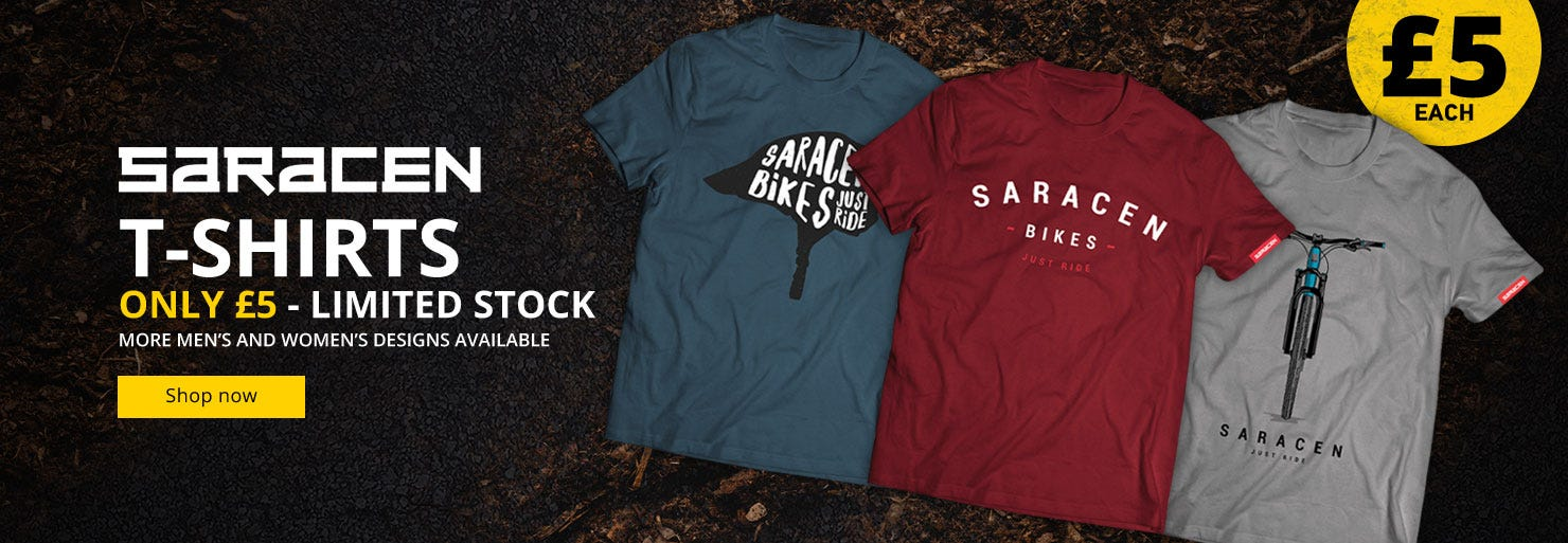 Saracen Tees - Now Only £5!