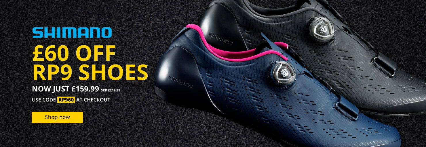 £60 Off Shimano RP9 Shoes