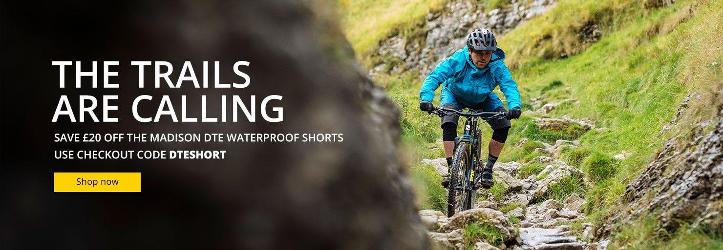 Madison DTE Waterproof Shorts