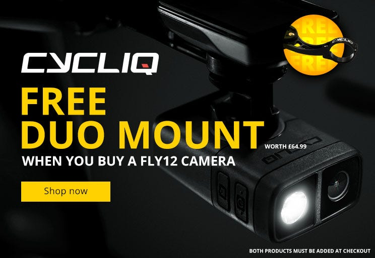 Free mount with Cycliq FLY12