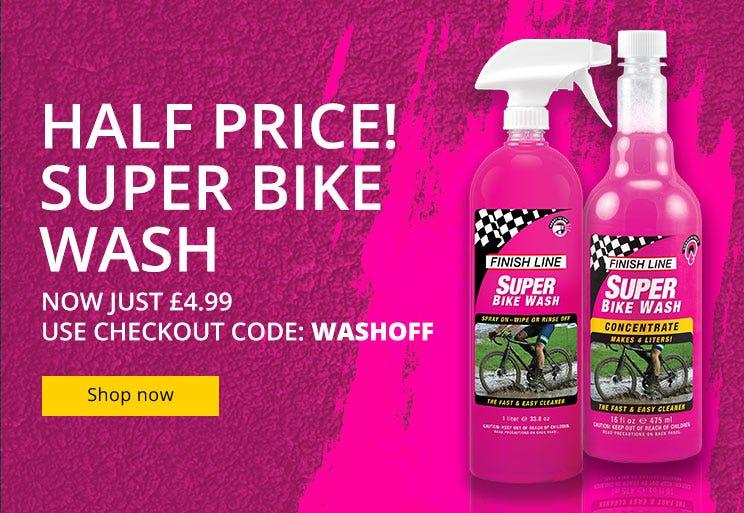 Finish Line - 50% Super Bike Wash