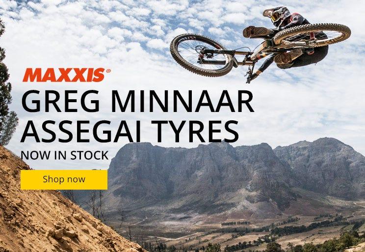 Maxxis - Greg Minaar Assegai Tyres Now In Stock!