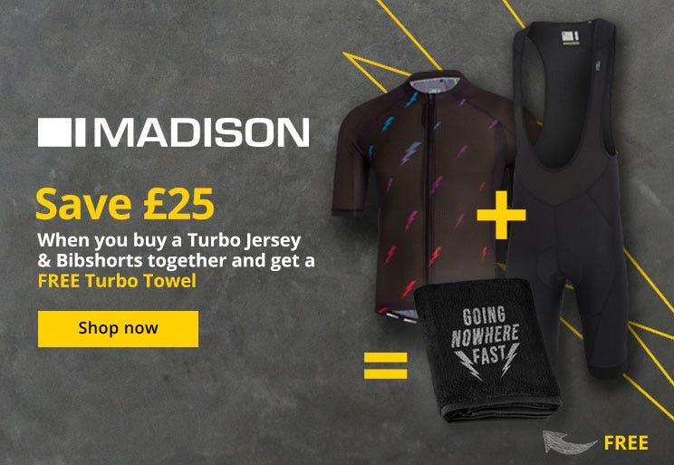 Madison - Save £25 On Turbo Gear
