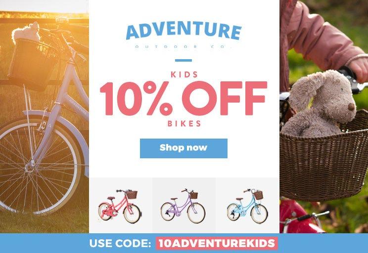 Adventure Bikes - 10% Off