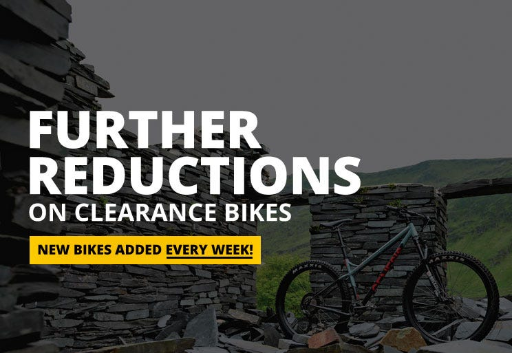Further Reductions On Clearance Bikes