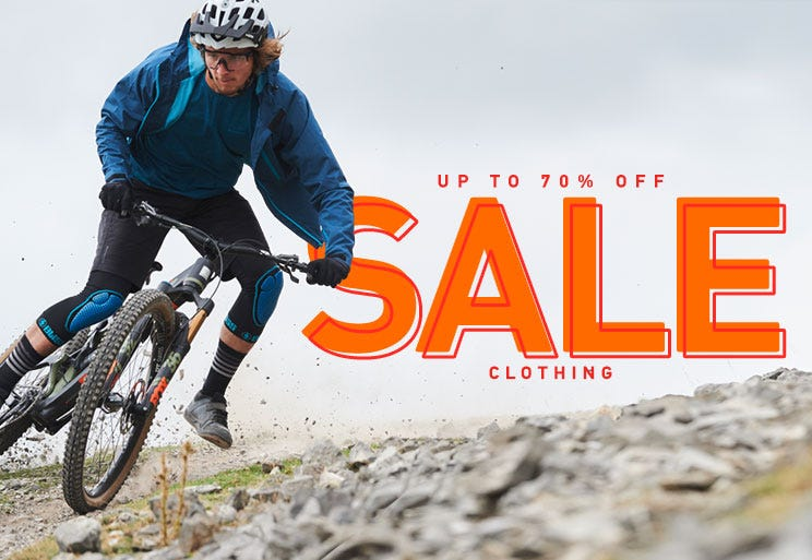 Up to 70% off clothing!