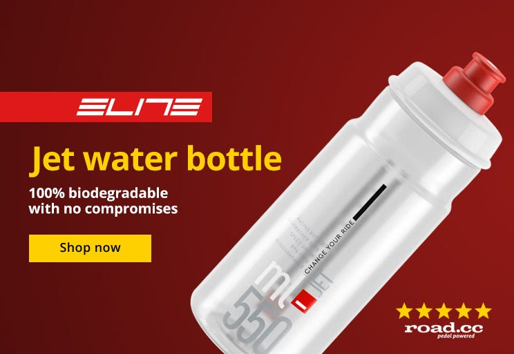 Elite Jet Waterbottle -Time to take your cycling off the beaten path?