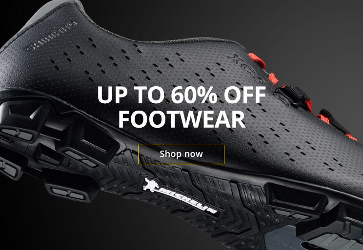 Footwear clearance from Shimano & Pearl Izumi - up to 60% off