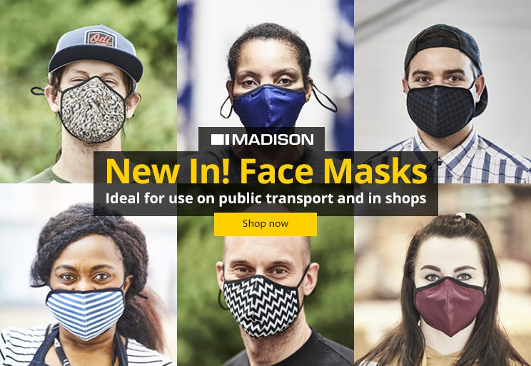 NEW IN! Madison Face Masks