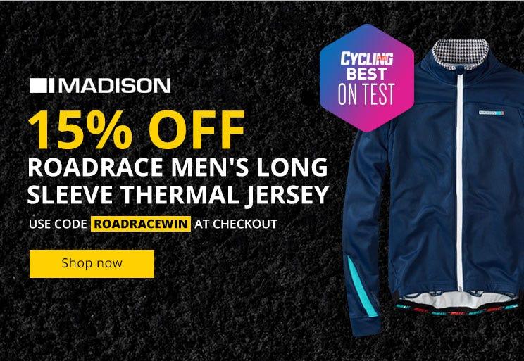 Madison RoadRace men's long sleeve thermal jersey -15% Off!