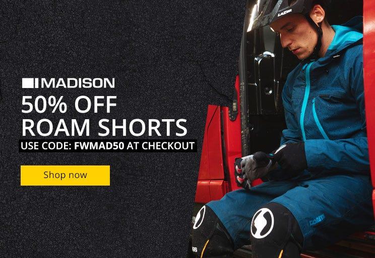 Madison Roam Shorts - 50% Off
