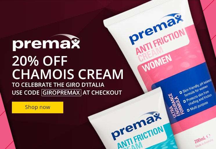Premax - 20% Off Chamois Cream!
