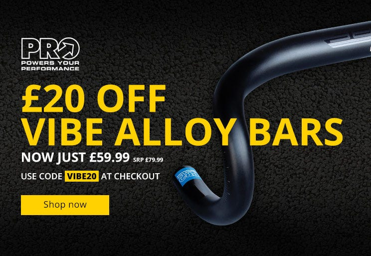 £20 Off PRO Vibe Alloy Handlebars