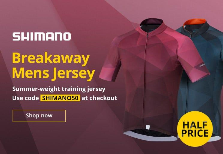 50% Off Shimano Men's Breakaway Jersey