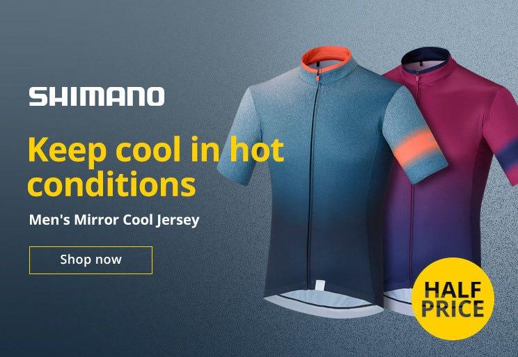 50% Off Shimano Men's Mirror Jersey
