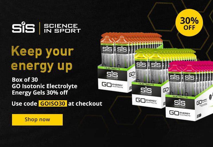 30% Off Science In Sport GO Isotonic Electrolyte Energy Gel