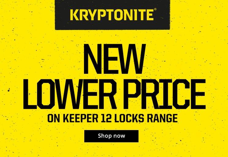Kryptonite Keeper 12 - New Lower Price!