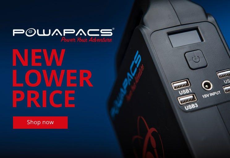 Powapacs - New lower Prices