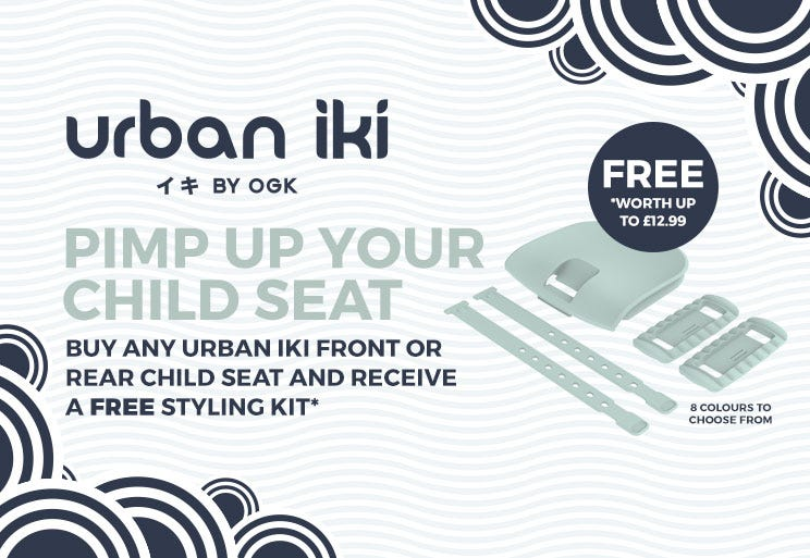Urban Iki - Pimp Up Your Child Seat!