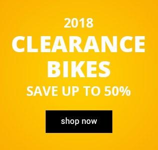 2018 Clearance Bikes